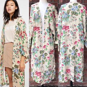 Free People Latimer Embellished Kimono